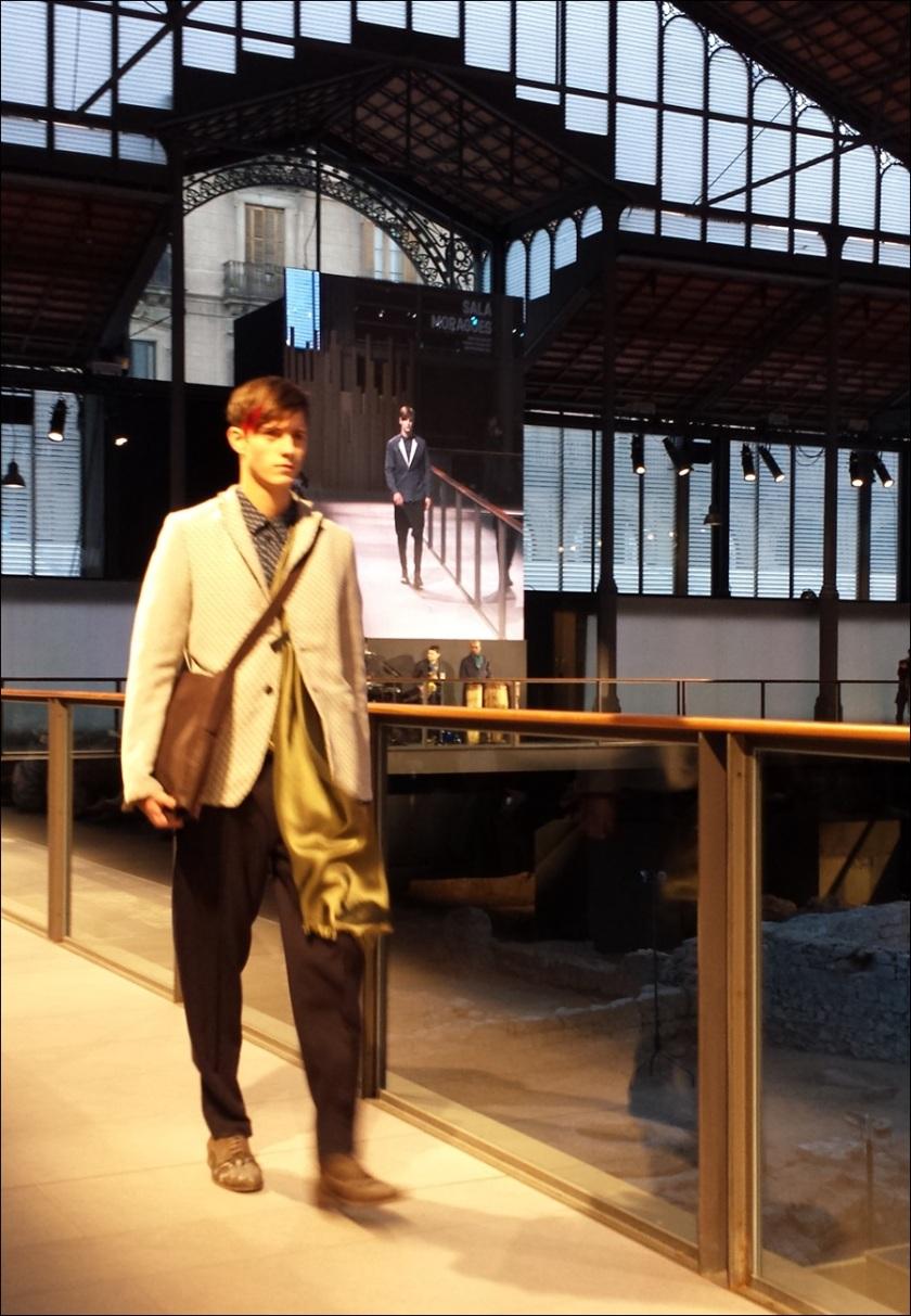 Cuidatuimagen, Josep Abril, 080 Barcelona fashion, catwalk, frontrow, borne, barcelona - 3