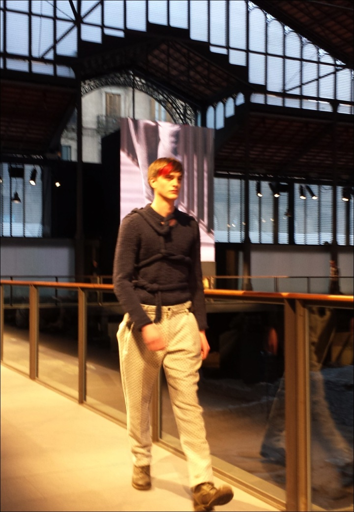 Cuidatuimagen, Josep Abril, 080 Barcelona fashion, catwalk, frontrow, borne, barcelona - 4