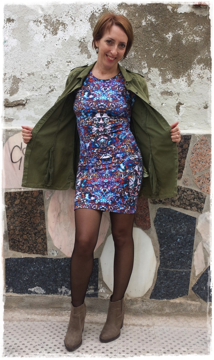 Cuidatuimagen, vestido Asos, bolso vintage, vamisa militar Zara, botas Zara, trendy looks, winter looks, it.girl, on.line buys6