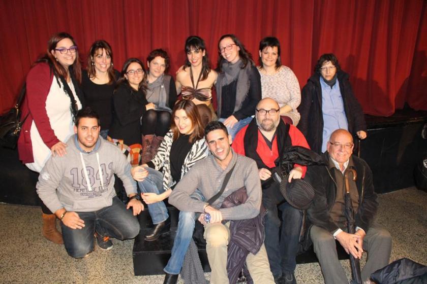 Cuidatuimagen in the theatre, golfus de Roma, El ciervo, Sa marylera
