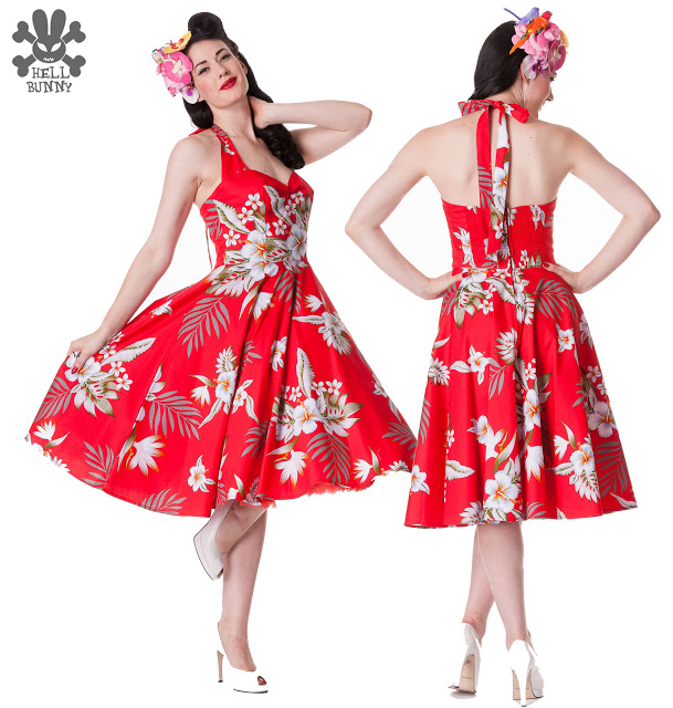 Cuidatuimagen, Hell Bunny, pin-up dresses, fiftie's dresses, trendy looks 3