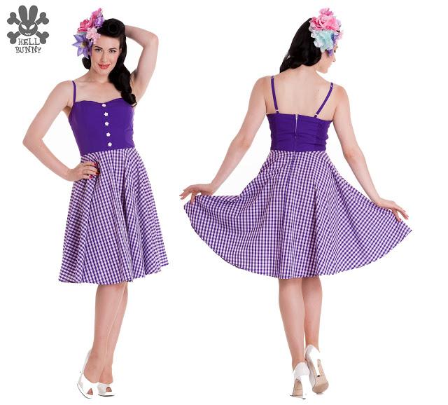 Cuidatuimagen, Hell Bunny, pin-up dresses, fiftie's dresses, trendy looks 4