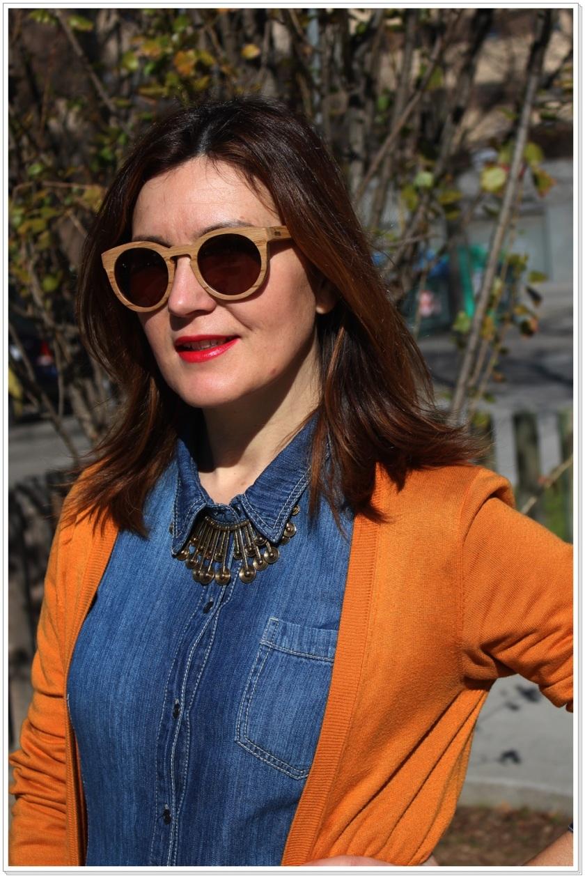 Cuidatuimagen, Ribot Sunglasses, Barcelona, gafas de madera, spring look 6