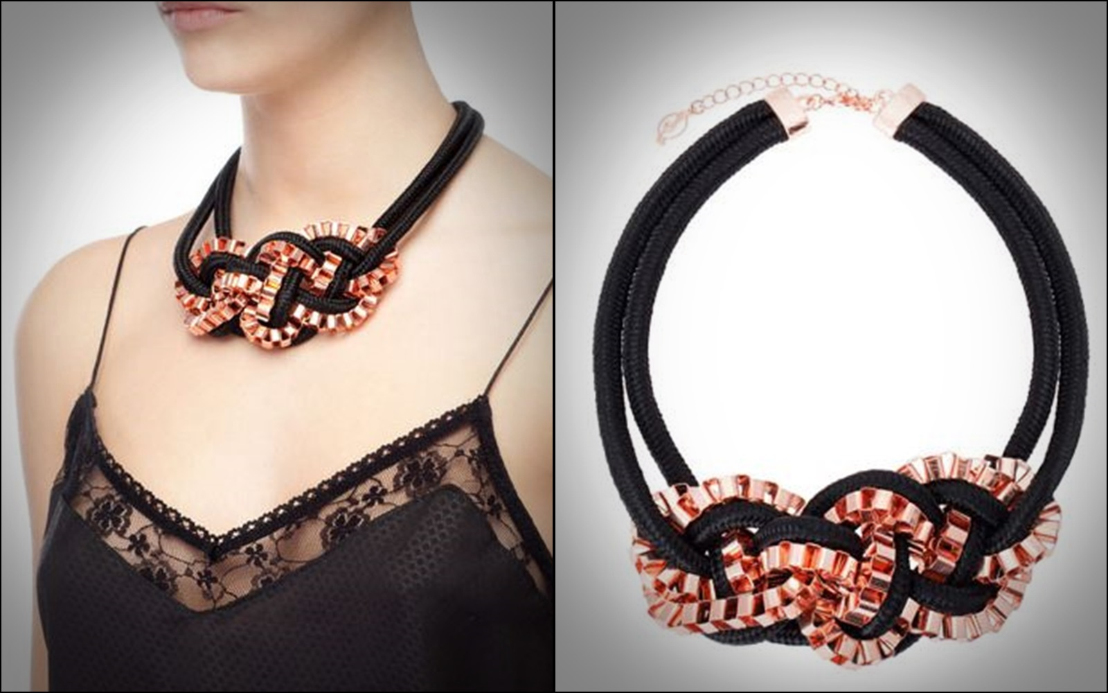 Statement Collars, Statement necklaces, collares, trendy looks, spring hit, Alloha Collection