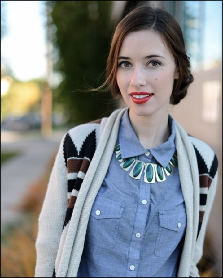 Street Style, Statement Collars, Statement necklaces, collares, trendy looks, spring hit, Street style 1