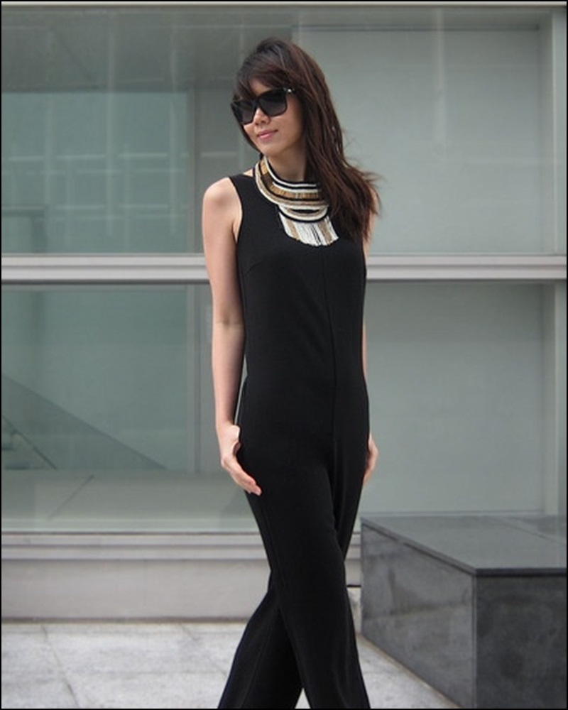 Street Style, Statement Collars, Statement necklaces, collares, trendy looks, spring hit, Street style 2