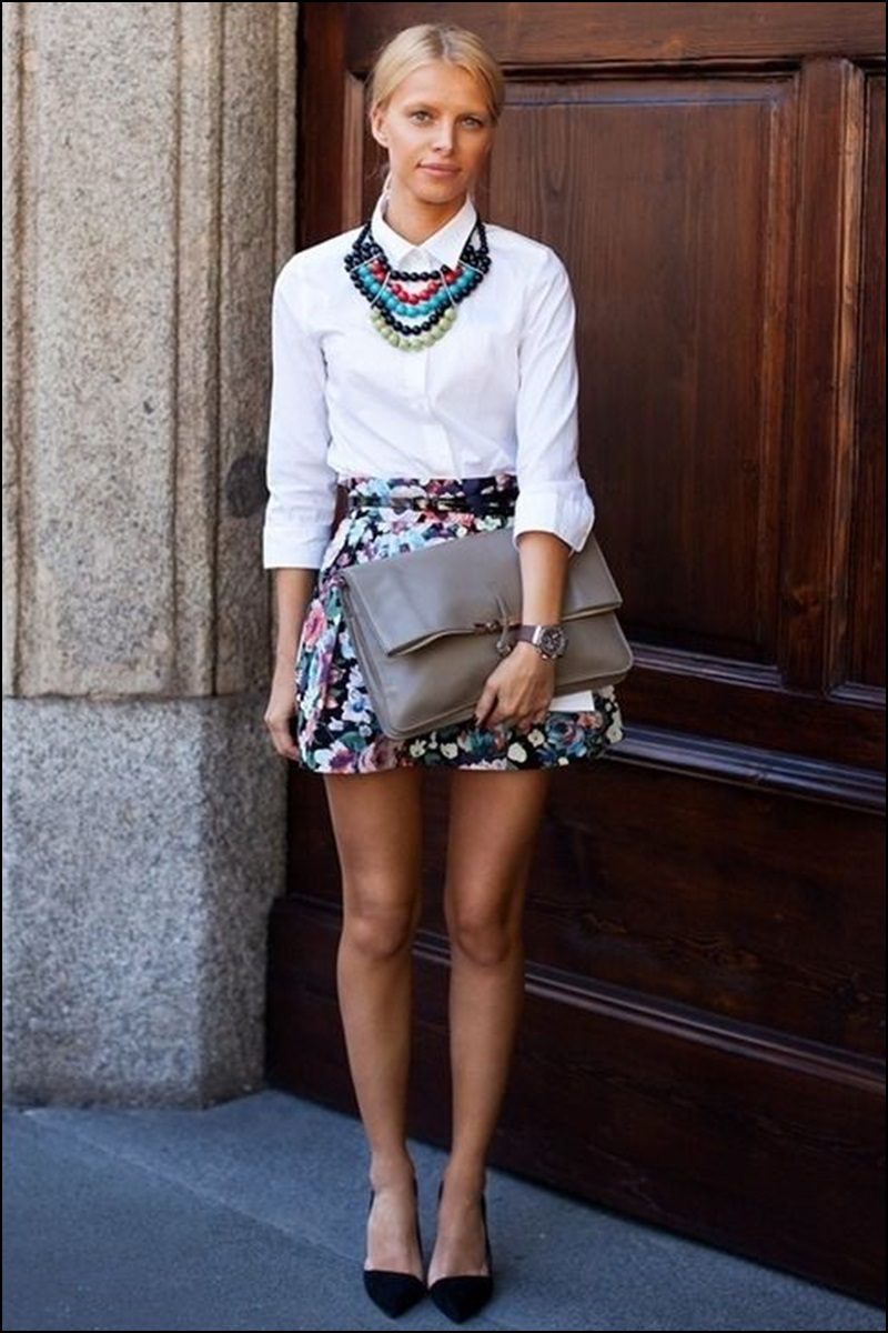 Street Style, Statement Collars, Statement necklaces, collares, trendy looks, spring hit, Street style 6