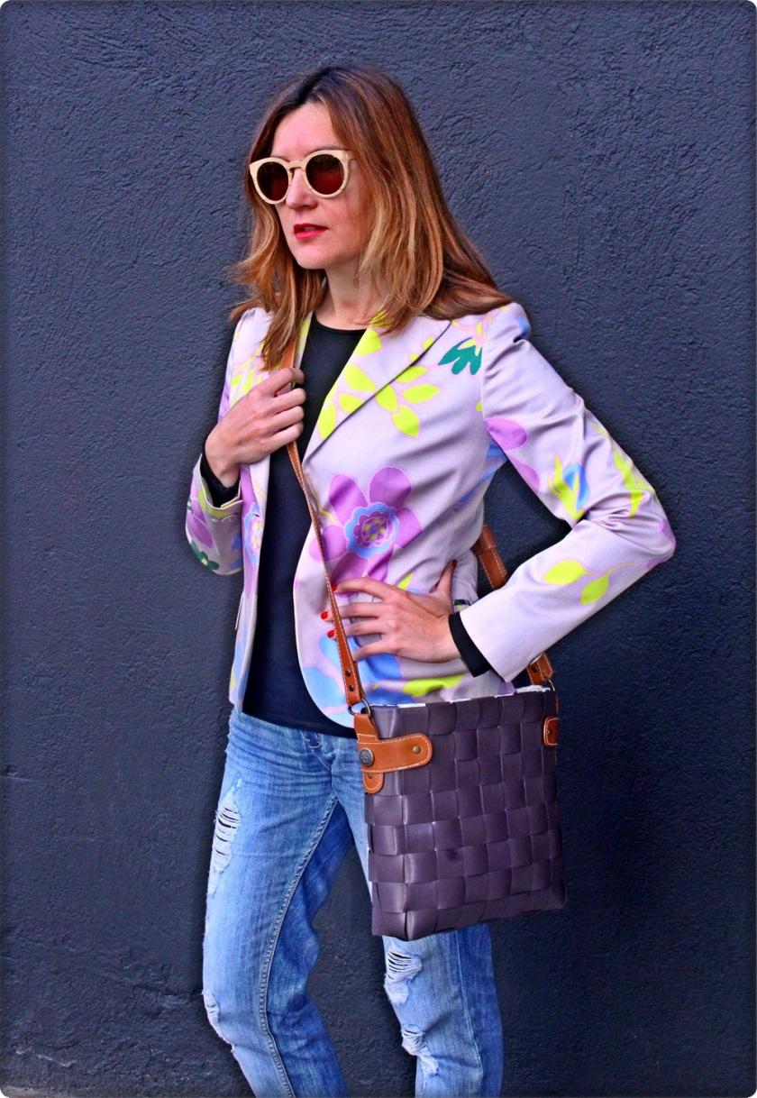 Cuida de ti, Cuida tu imagen, blazer laserre vintage, botas Wonders, bolso Menorca, gafas Ribot Sunglasses 2