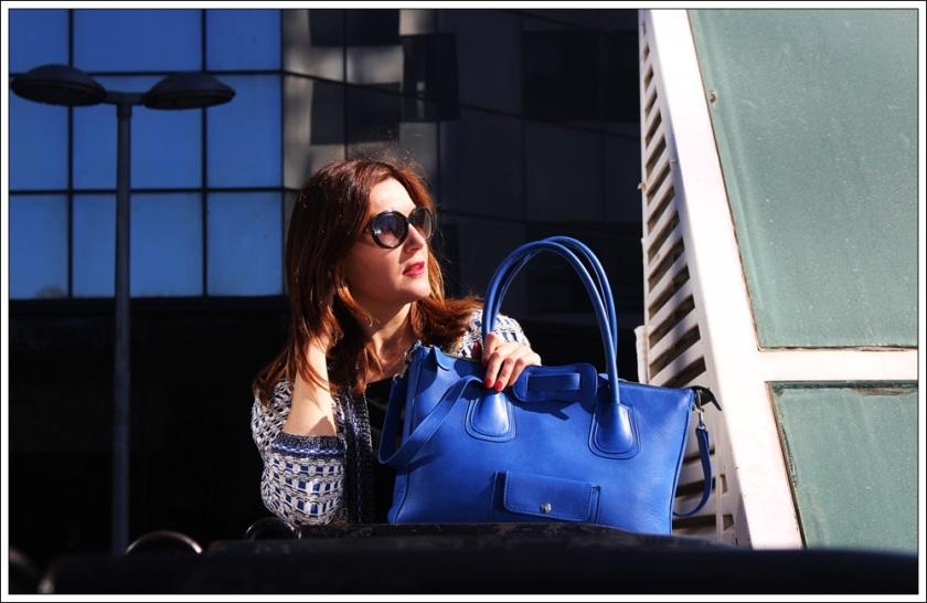 Cuida de ti, cuidatuimagen, street style, looks, bolso Oeoe handbags, chaqueta Mango, Falda Silvian Heich , camiseta Massimo Dutti, zapatos To be by Rebeca Sanver 4