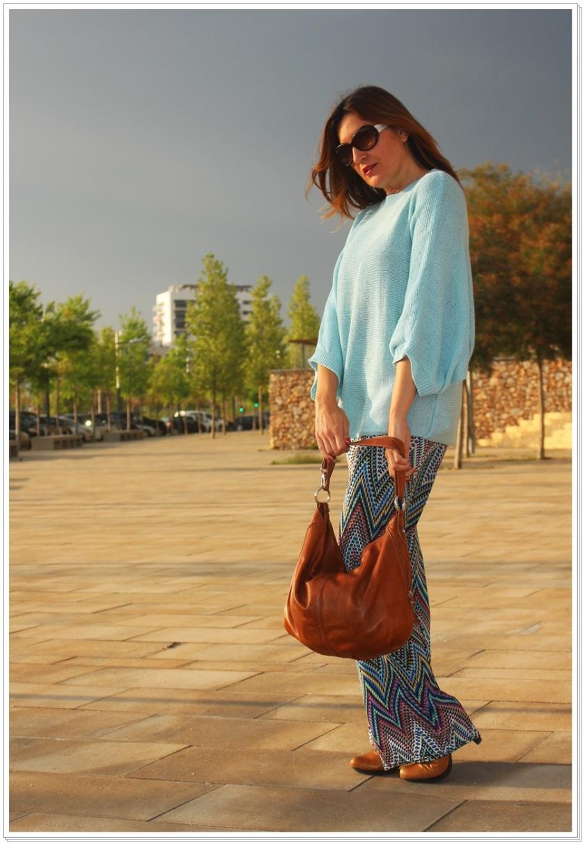 Cuidatuimagen, Azul hielo, spring looks, street style, Zara woman 2