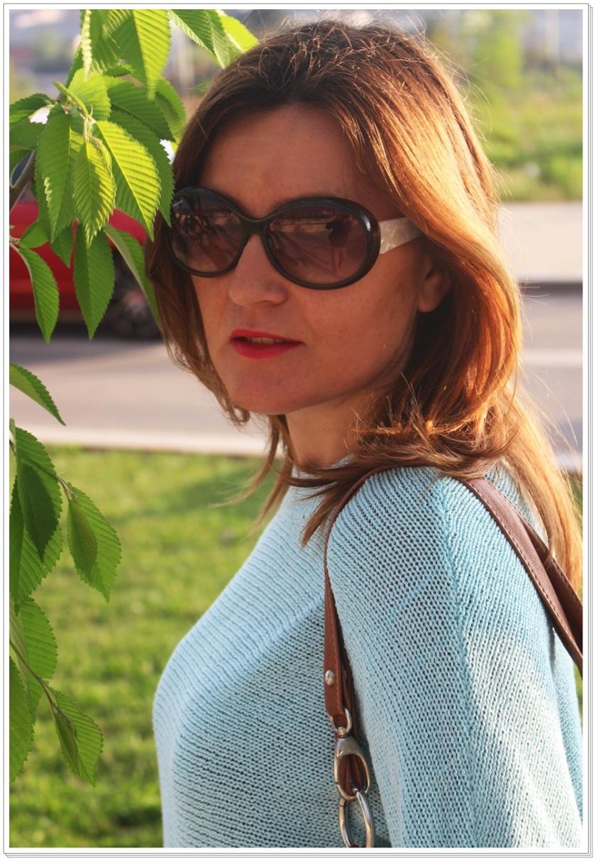 Cuidatuimagen, Azul hielo, spring looks, street style, Zara woman 3