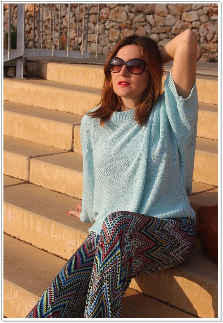 Cuidatuimagen, Azul hielo, spring looks, street style, Zara woman 4