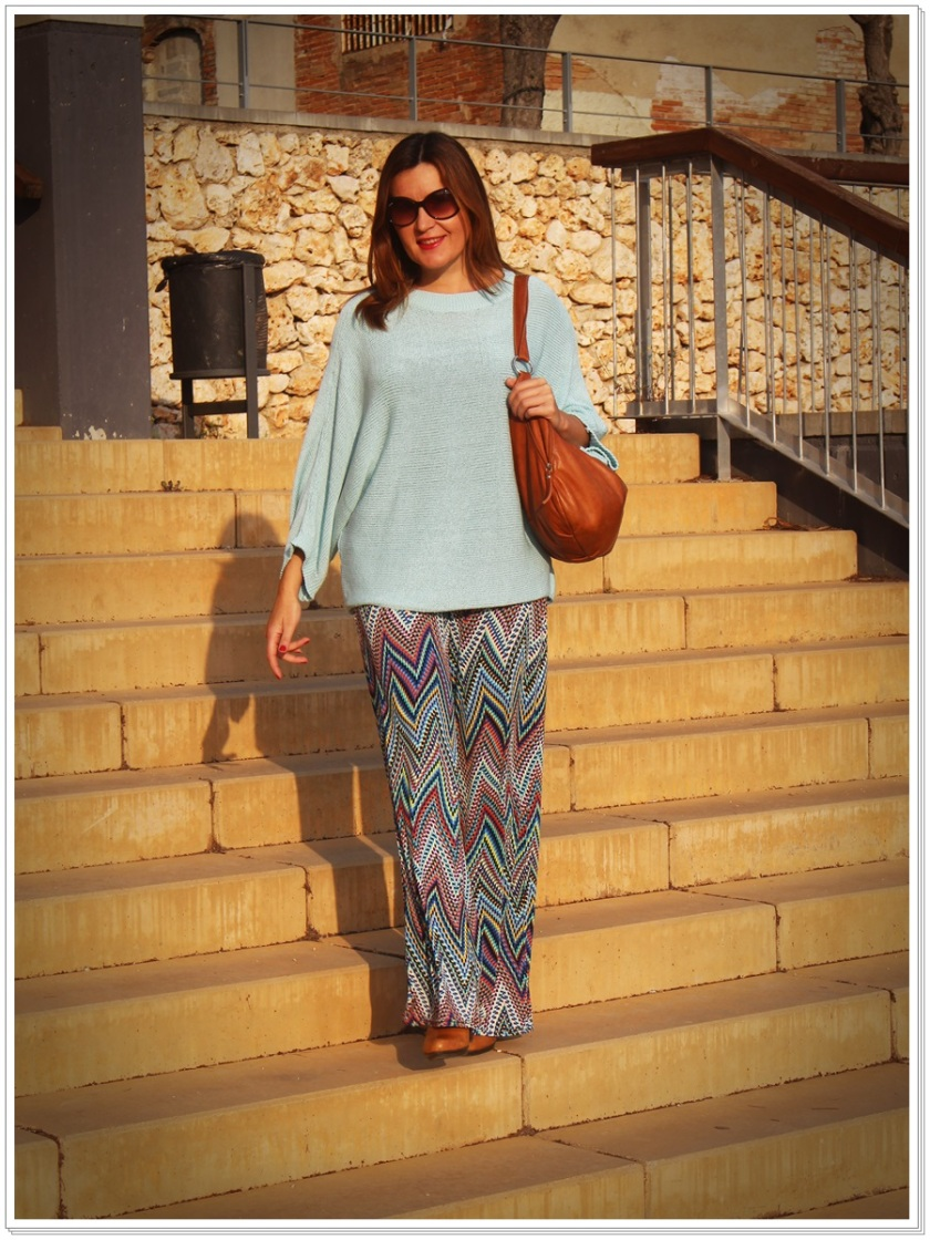 Cuidatuimagen, Azul hielo, spring looks, street style, Zara woman 5