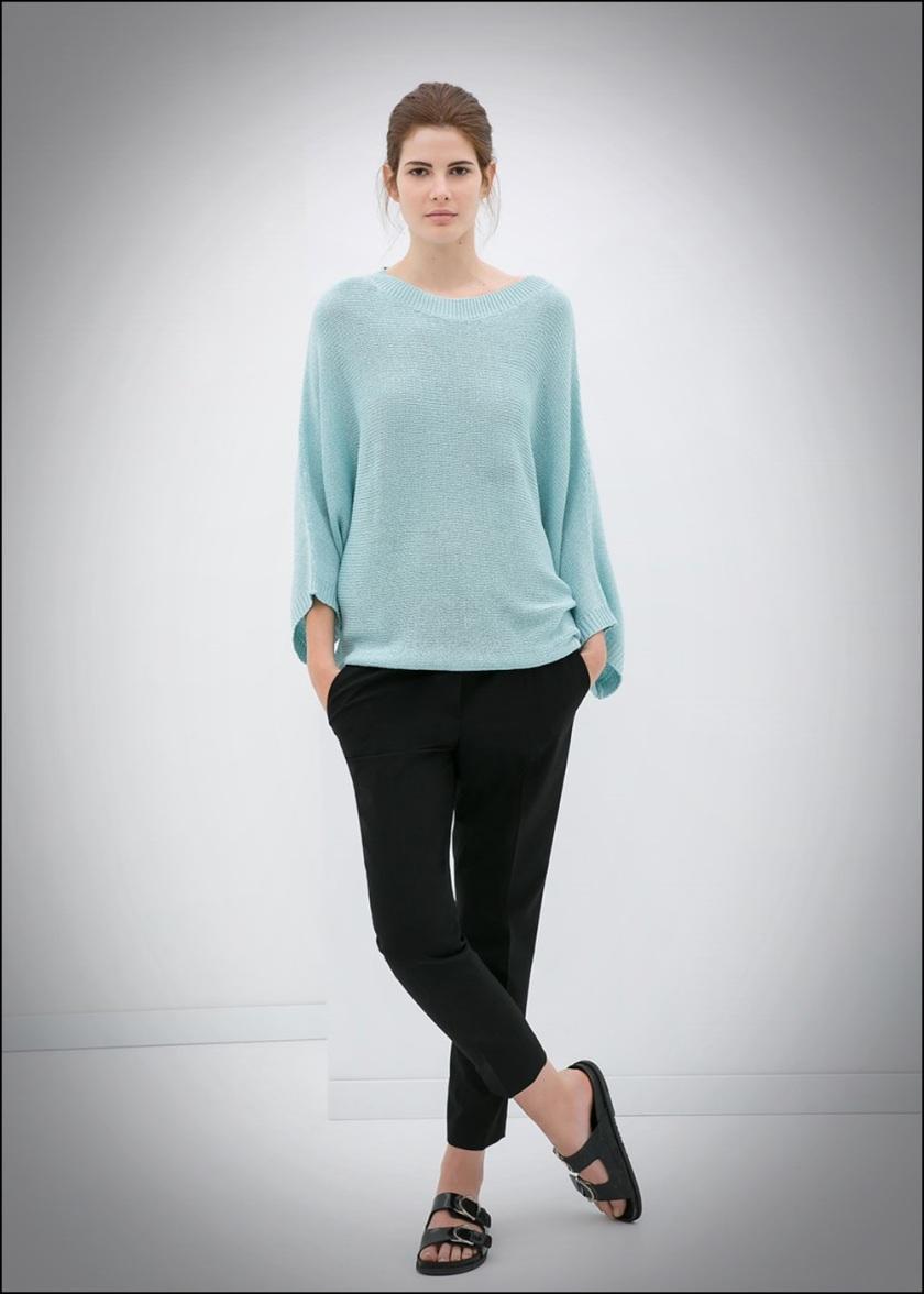 Cuidatuimagen, Azul hielo, spring looks, street style, Zara woman