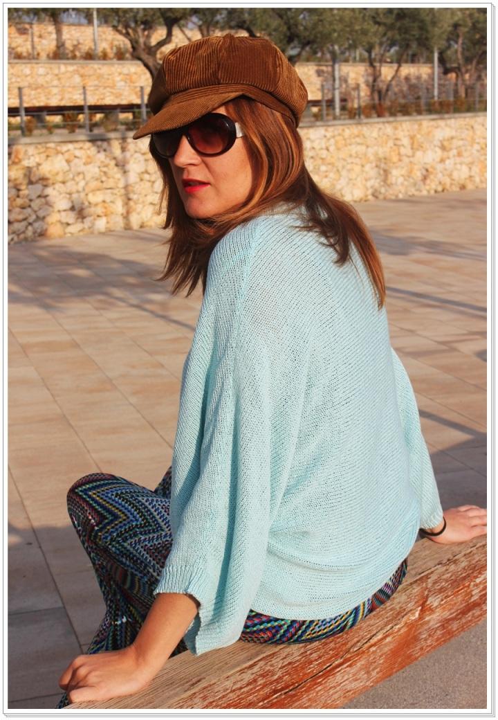 Cuidatuimagen, jersey azul hielo, zara, street style, spring looks