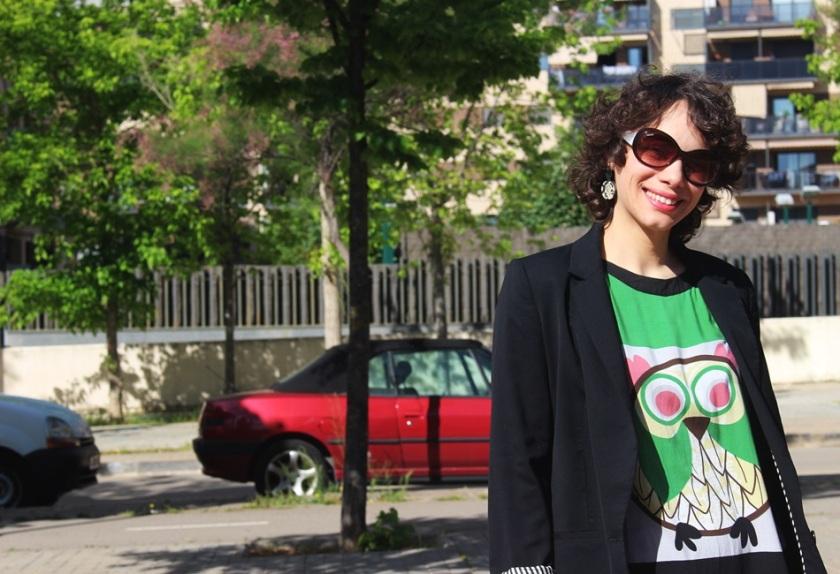 Americana Easywear El Corte Inglés, Camiseta Buho Zara, Tejanos H&M, Zapatos Pull & Bear, Bolso Encants Vells, spring looks, Cuida de ti, Cuida tu imagen (9)