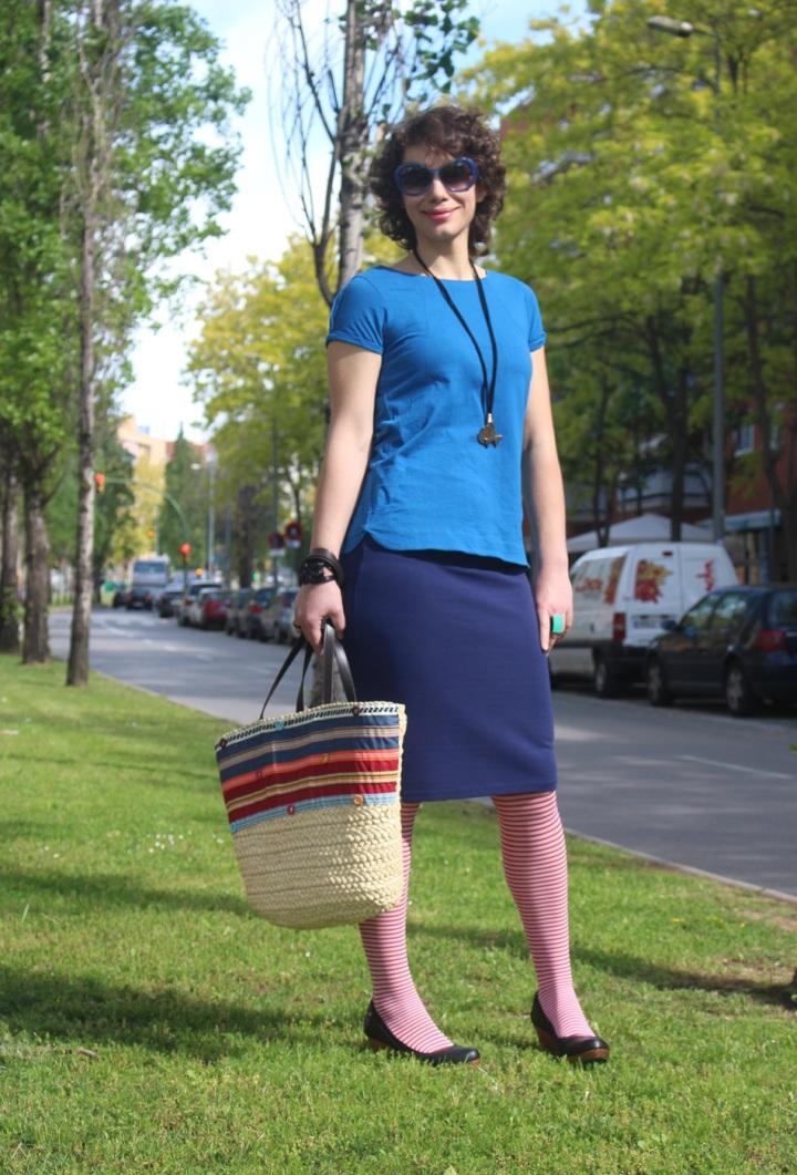 Anna, Cuidatuimagen, navy looks, Spring looks 2014, street style, marinero, rayas, stripes, 1