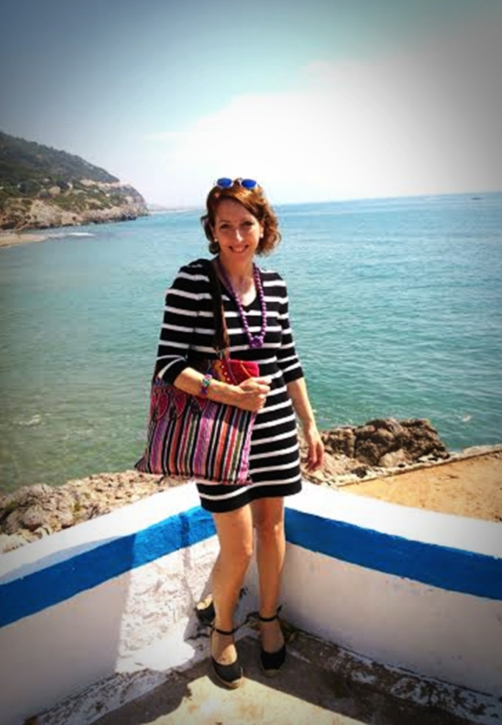 Carme, Cuidatuimagen, navy looks, Spring looks 2014, street style, marinero, rayas, stripes