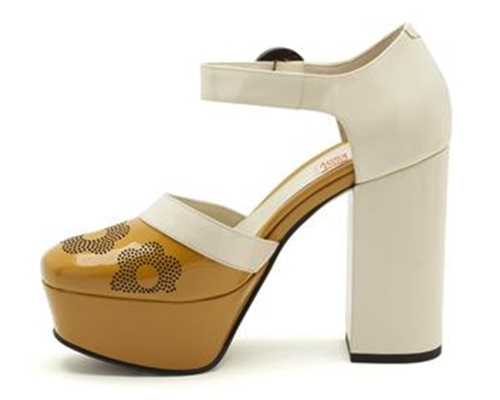 colección cápsula de Orla Kiely para la marca de zapatos Clarks 7