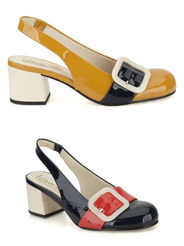 colección cápsula de Orla Kiely para la marca de zapatos Clarks, Cuidatuimagen
