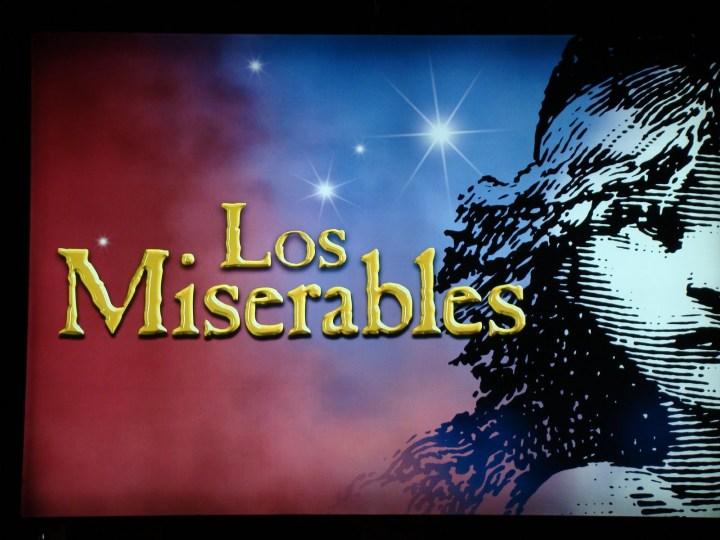 Cuida de ti, cuida tu imagen, Theater time, Los Miserables (2)