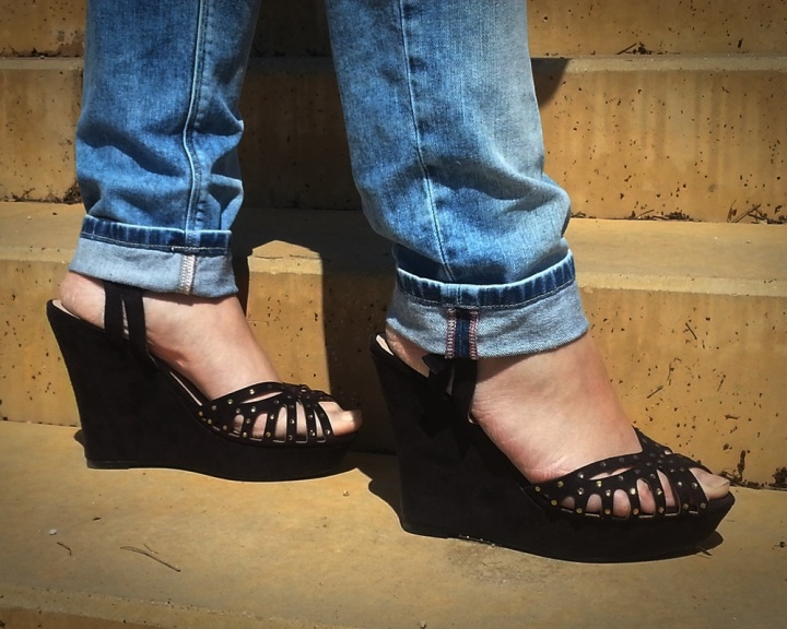 Cuidadeti, Cuidatuimagen, street style, outfits, spring looks, Jeans Salsa, Camisa Primark, Foulard All My Shoes, Bolso Misako, Gafas Rayban, Cazadora tejana GAP, Zapatos Venca 5