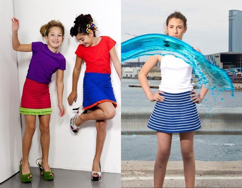 Cuidatuimagen, Efecto Limon, faldas, niñas