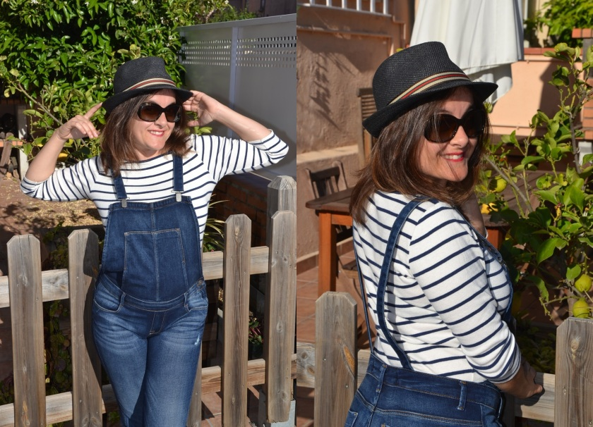 Marisa, Cuidatuimagen, navy looks, Spring looks 2014, street style, marinero, rayas, stripes