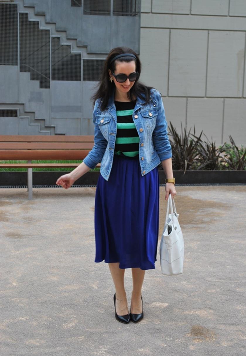 Patricia, Cuidatuimagen, navy looks, Spring looks 2014, street style, marinero, rayas, stripes,