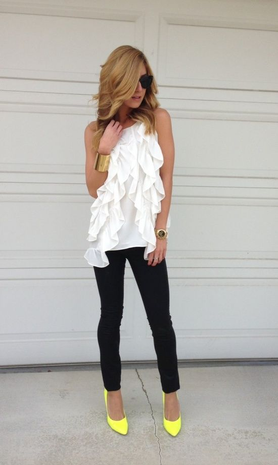 Street Style, Black & White, Cuidatuimagen, spring looks, trends, outfits 3