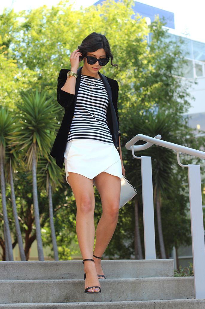 Street Style, Black & White, Cuidatuimagen, spring looks, trends, outfits 4
