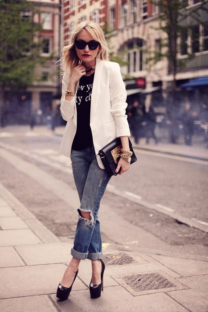 Street Style, Black & White, Cuidatuimagen, spring looks, trends, outfits