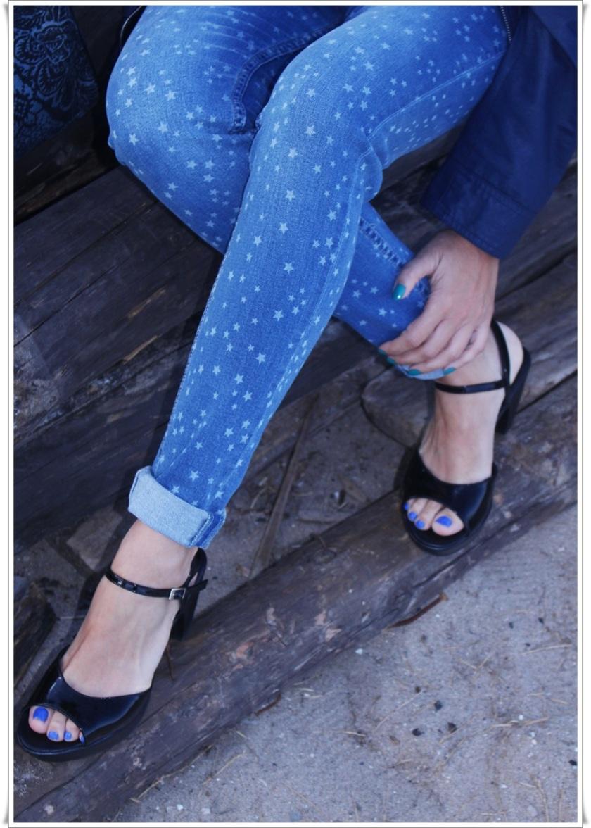 Cuida de ti, cuida tu imagen, Blue, jeans, stars, beach, street style, looks 4 (2)