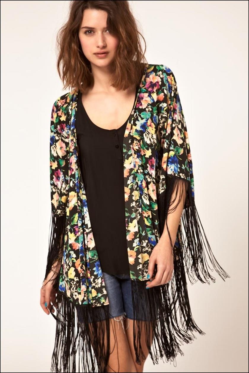 Cuida de ti, Cuida tu imagen, Kimono con flecos Asos - 2