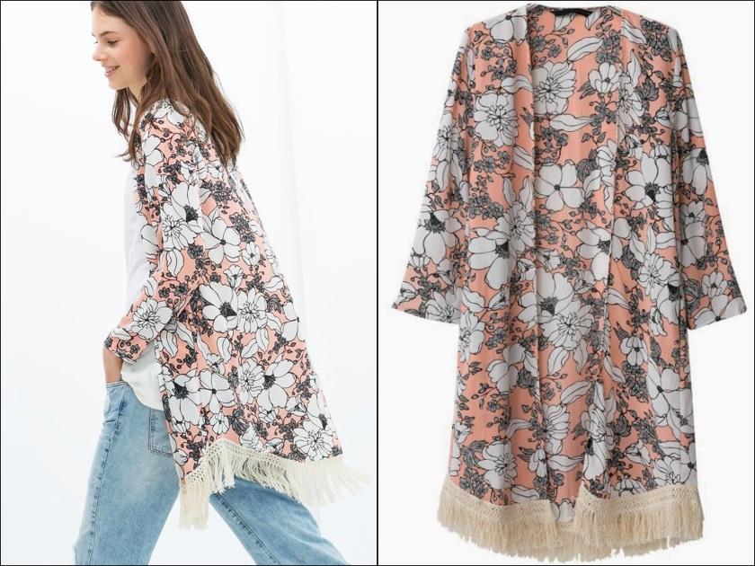 Cuida de ti, Cuida tu imagen, Kimono con flecos Zara MURAL 1.jpg