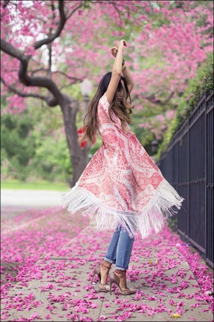 Cuida de ti, Cuida tu imagen, street style, looks, kimono con flecos, summer trend, inspiration 5