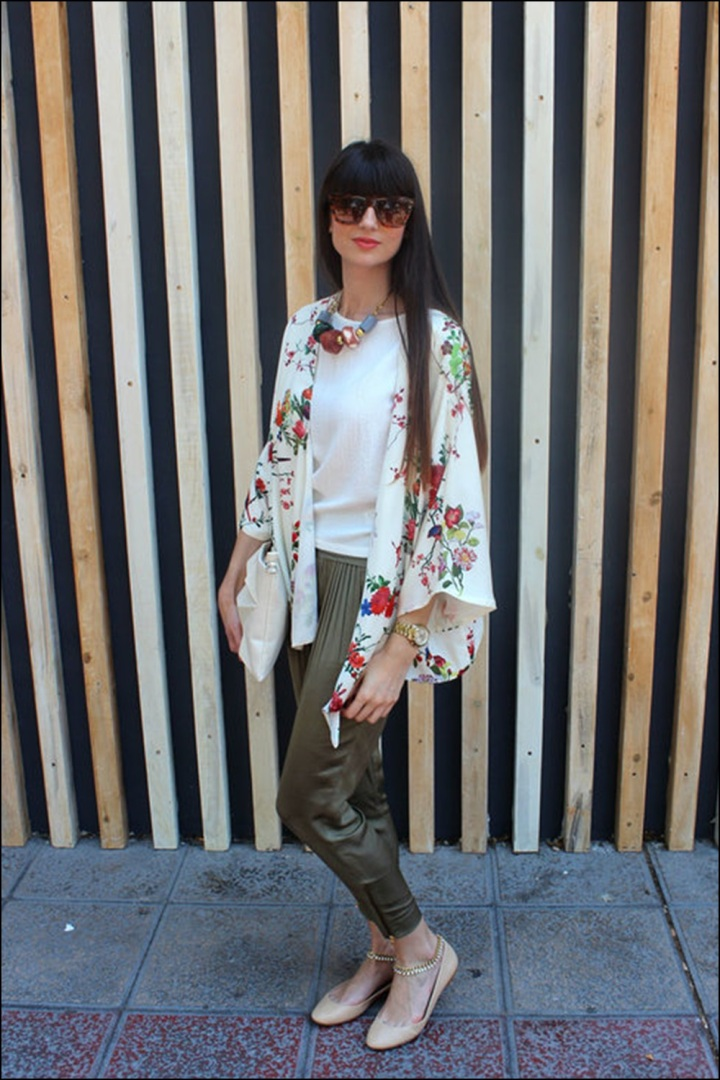 STREET STYLE, Cuida de ti, Cuida tu imagen, street style, looks, kimono con flecos, summer trend, inspiration 4 (2)