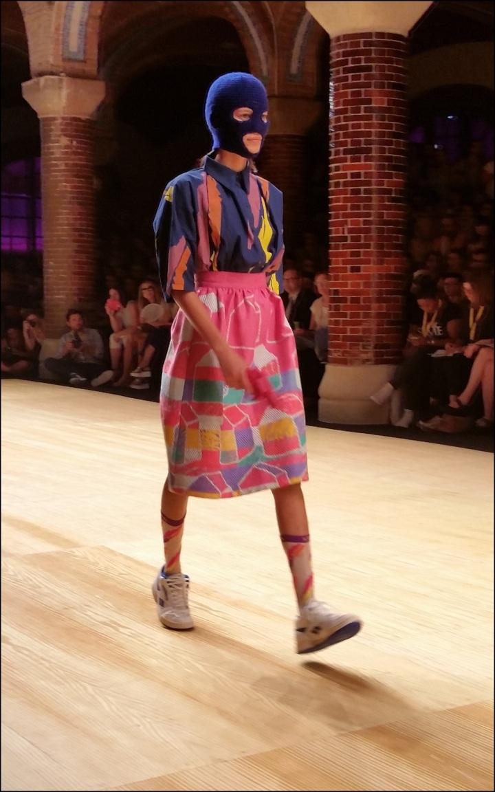 Cuida de ti, cuida tu imagen. 080 Barcelona Fashion, catwalk, front row, Krizia Robustella, SS2015, Miami Riot 11