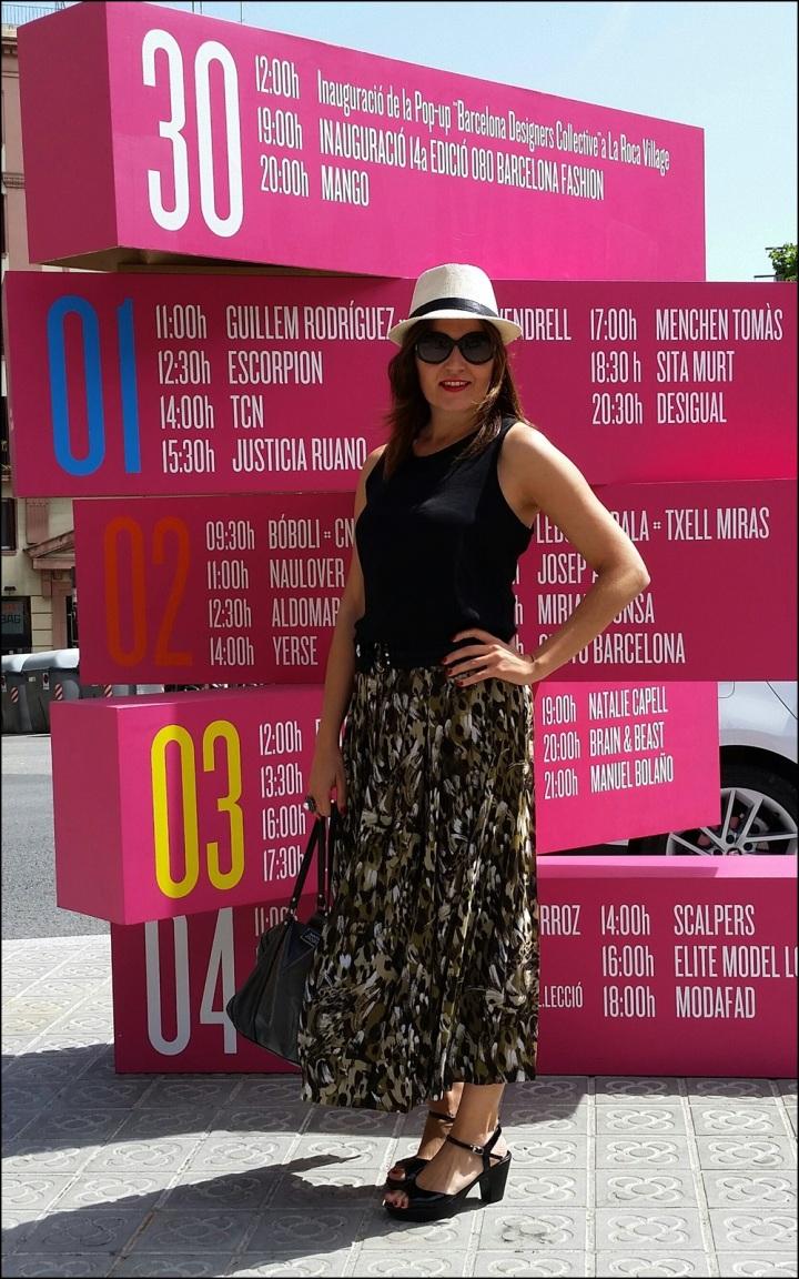 Cuida de ti, cuida tu imagen. 080 Barcelona Fashion, catwalk, front row, Krizia Robustella, SS2015, Miami Riot 16