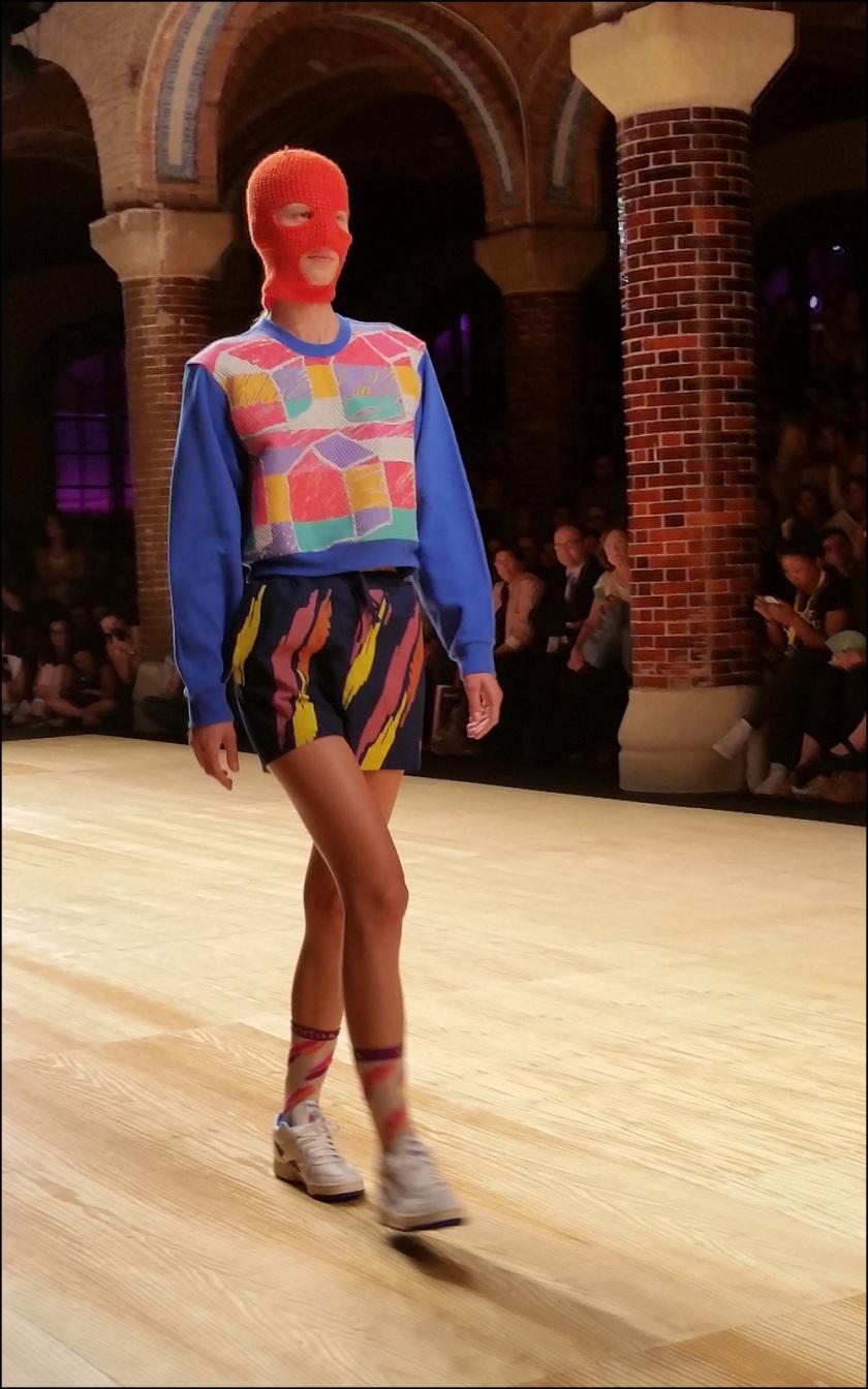Cuida de ti, cuida tu imagen. 080 Barcelona Fashion, catwalk, front row, Krizia Robustella, SS2015, Miami Riot 4