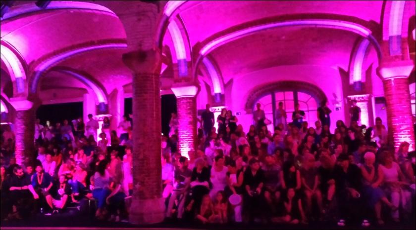Cuida de ti, cuida tu imagen. 080 Barcelona Fashion, catwalk, front row, Krizia Robustella, SS2015, Miami Riot