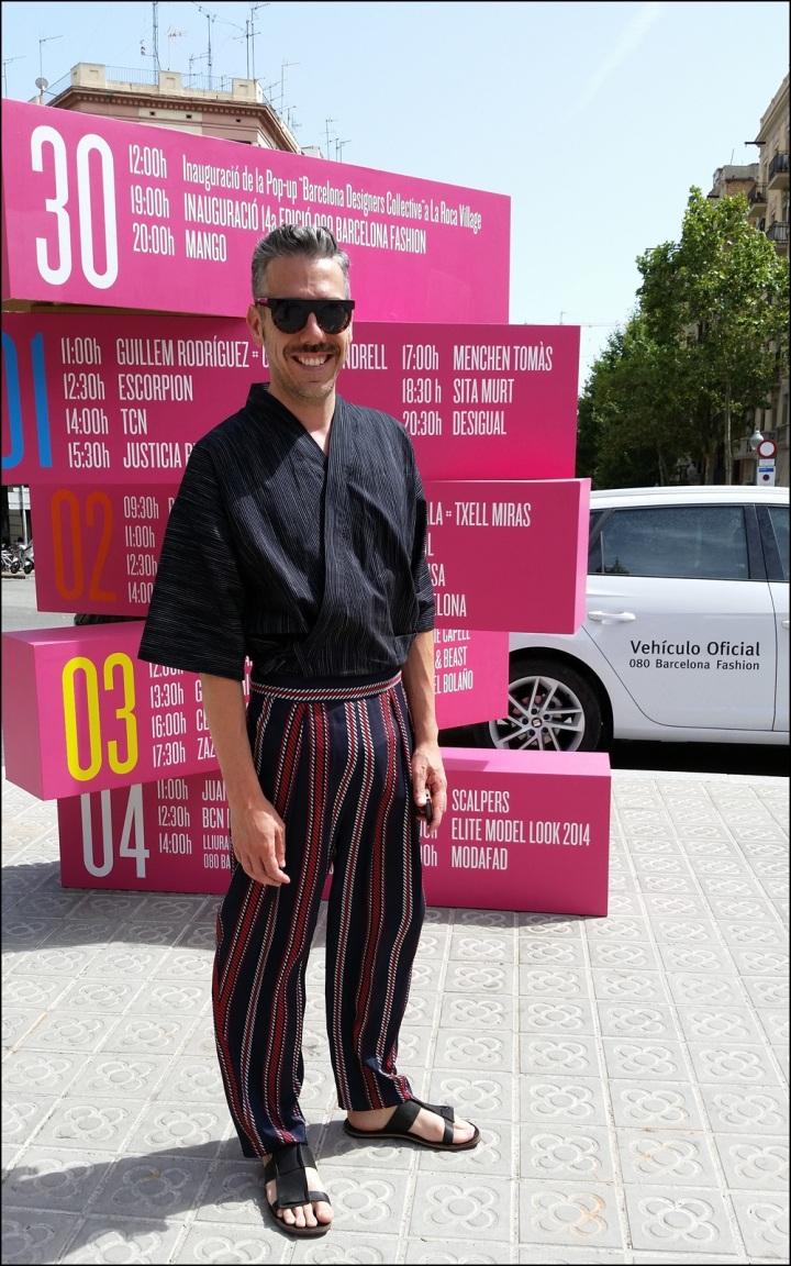 Cuida de ti, cuida tu imagen. 080 Barcelona Fashion, catwalk, front row, Krizia Robustella, SS2015, Miami Riot16