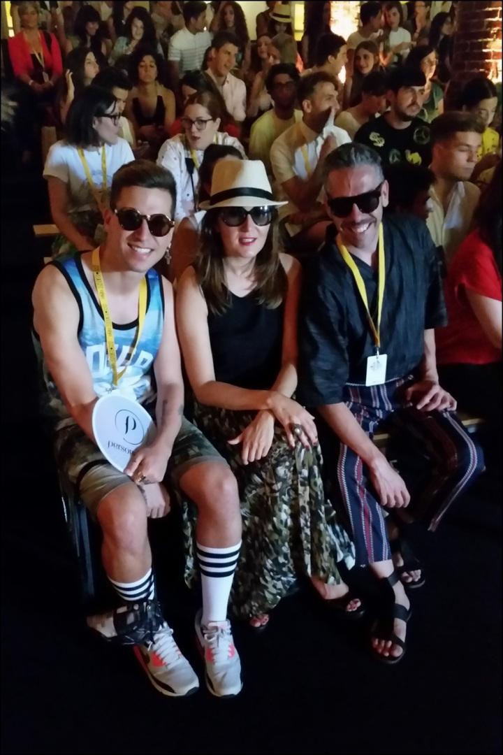 Cuida de ti, cuida tu imagen. 080 Barcelona Fashion, catwalk, front row, Zazo&Brull, SS 2015 16