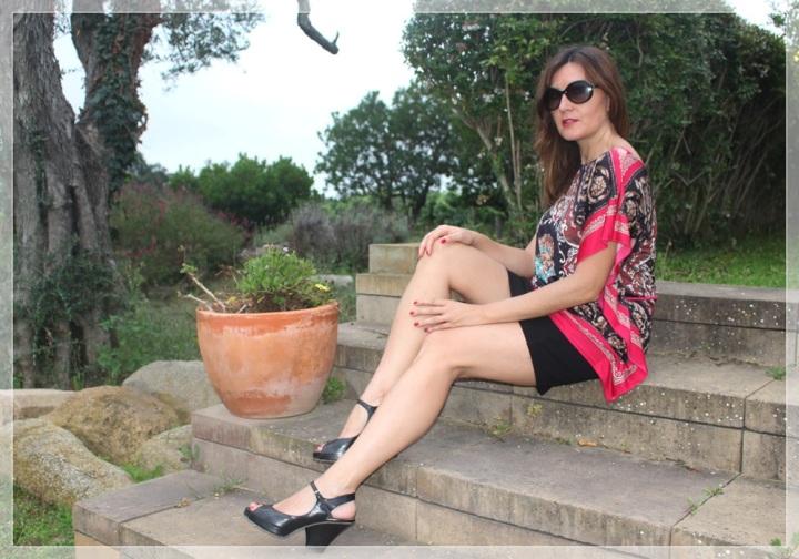 Cuida de ti, cuida tu imagen, summer looks, trendy looks, looks de verano, trends, Falda  Silvian Heich, Camiseta Vintage, Zapatos Pura López 4