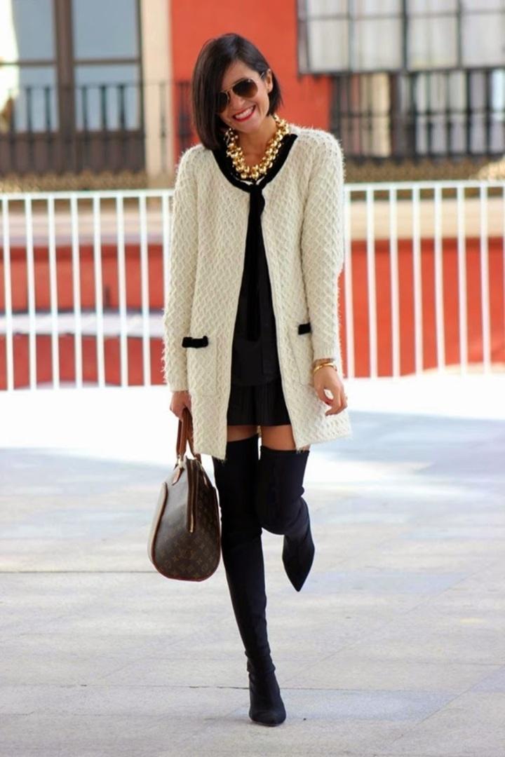 Cuida de ti, Cuida tu imagen, autumn, winter, trends, botas mosqueteras, street style 7