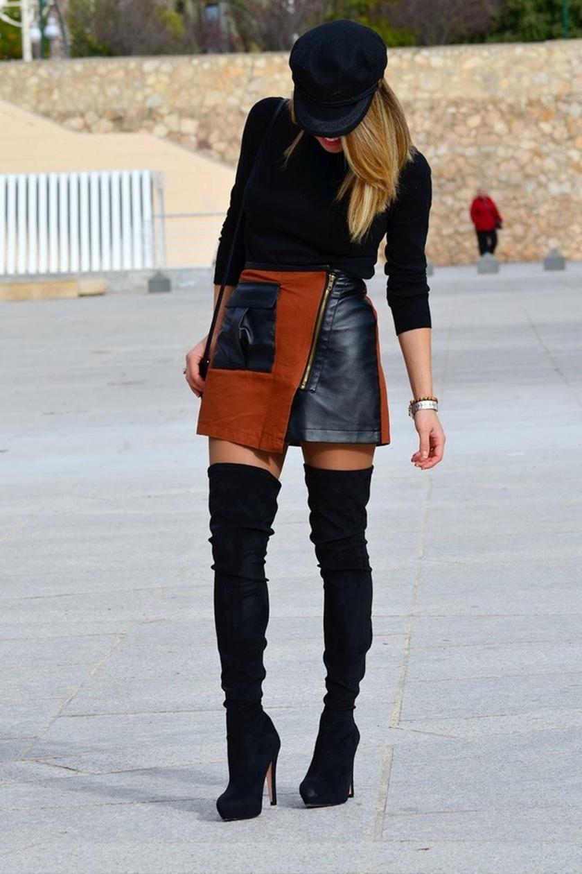 Cuida de ti, Cuida tu imagen, autumn, winter, trends, botas mosqueteras, street style 8