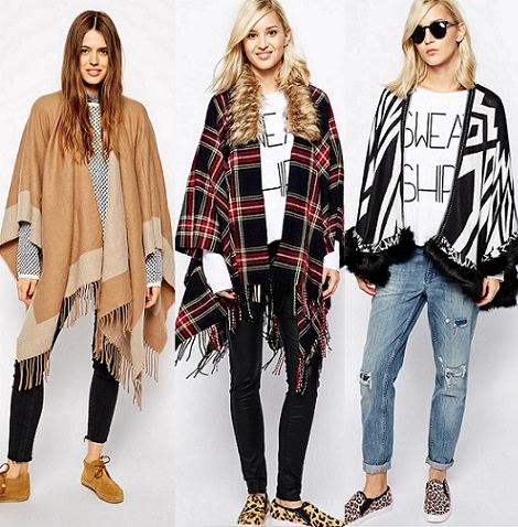 Cuida de ti, cuida tu imagen, Street Style, Capas con estilo, capas y ponchos ASOS, autumn trends