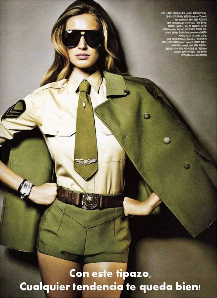 Cuida de ti, cuida tu imagen, tendencias otoño 2014, trendy looks auti¡umn 2014, khaki colour, military style 10