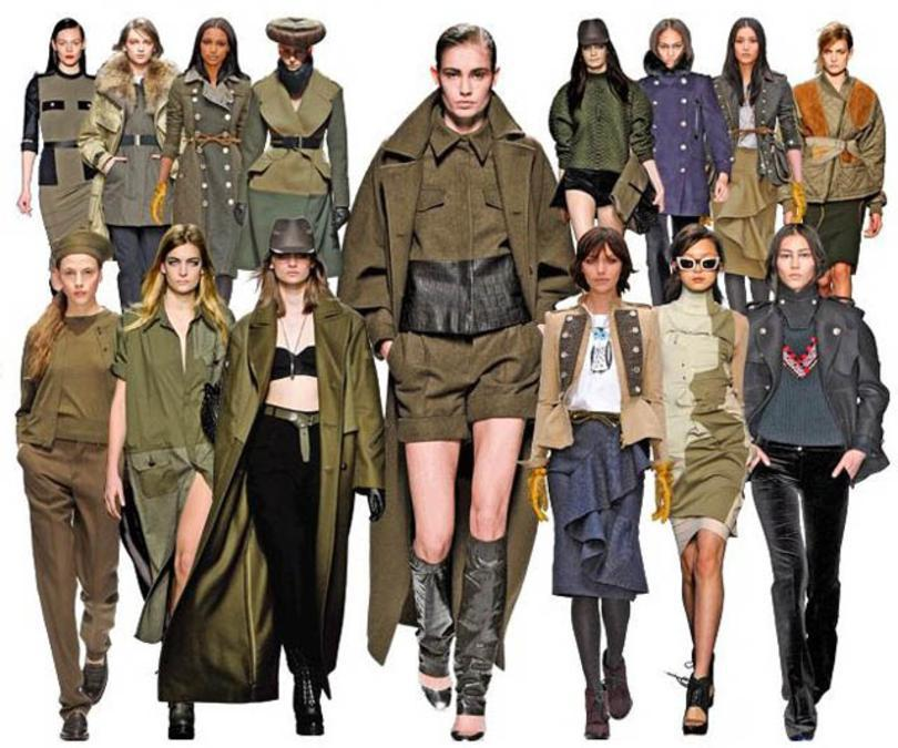 Cuida de ti, cuida tu imagen, tendencias otoño 2014, trendy looks auti¡umn 2014, khaki colour, military style 100