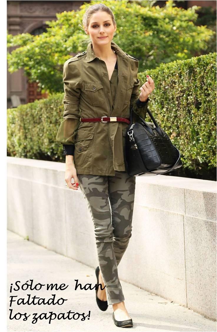 Cuida de ti, cuida tu imagen, tendencias otoño 2014, trendy looks auti¡umn 2014, khaki colour, military style 22
